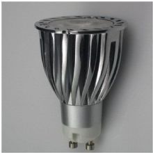 GU10 6W  LED Bulb  Spot Lamps in COOL WHITE in aluminium  shell